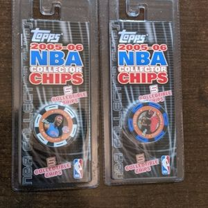 NBA Poker Chips/Unopened package's